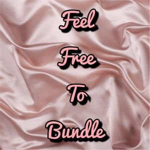 BUNDLE OFFERS WELCOMED